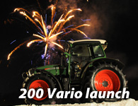 Fendt 200 Vario Launch